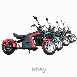 SoverSky Electric Motorcycle 3000W 30Ah Lithium Fat Tire Citycoco Scooter M8