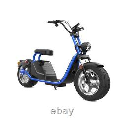 SoverSky Electric Motorcycle 3000W 63V Lithium Fat Tire Citycoco Scooter SL3.0
