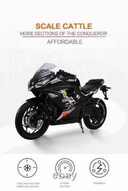 Sporty Powerful Electric Motorcycle 60MPH Speed XRZ 2000W 72V