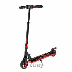 Swagtron SG-8 Folding Electric Scooter for Kids Adults Lightweight E-Scooter Red