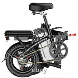 Upgrade Folding Electric Bike Suitable For Adults 250W Ebike with Lithium Battery
