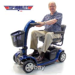VICTORY 10 Pride 4-Wheel Electric Mobility Scooter SC710 NEW+ ACCESSORY BUNDLE