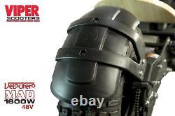 Velocifero Mad 1600W 48V Electric Scooter, No78, 2020 Model, Terrain Tyres, VS