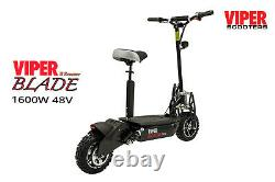 Viper Blade 1600W 48V Electric Scooter New 2020, Viper Scooter