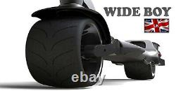 Wide Boy 500RC, BIG, Powerful Adult E- Scooter. Fat Wide Wheel, On & Off Road