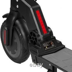 XPRIT 8.5 Electric Kick Scooter 350W Motor, 16 mph, 16 Miles Range-Black, Red, Gray