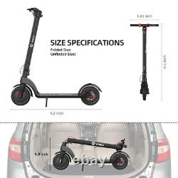 YADEA Adult Electric Scooter with 49 Miles Battery Life Safe Urban Commuter 350W