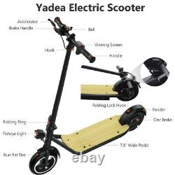 YADEA Adult Electric Scooter with 49 Miles Battery Life Safe Urban Commuter 500W