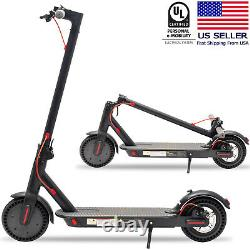 ZeeBull Electric Scooter Adult, 8.5 Solid Tires 350W Motor Long-range Battery