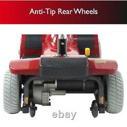 Zip'r 4 Traveler 4-Wheel Long Range Portable Foldable Mobility Scooter